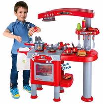 Minha Super Cozinha Infantil Belfix C/fogão Forno Panela