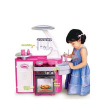 Cozinha Classic Infantil C/ Fogão, Pia, Armário Cotiplás