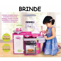 Cozinha Infantil Classic Cotiplás C/ Fogão Pia Armário
