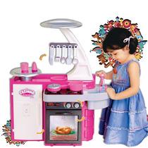 Cozinha Infantil Classic Cotiplás C/ Fogão,geladeira E Forno