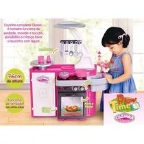 Cozinha Infatil Classic Cotiplás C/ Fogão Pia Armário
