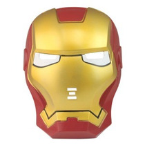 Máscara Cosplay Iron Man - Com Leds