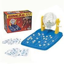 Jogo Bingão C/100 Cartelas Nig