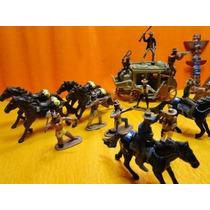 Conjunto Forte Apache Indio Cowboy Diligencia Ñ Gulliver