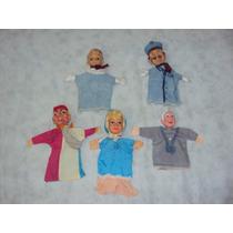Brinquedo Antigo, Lote De Raros Mini Fantoches.