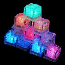 Cubo Gelo Neon Luminoso Caixa Com 12 Unidades