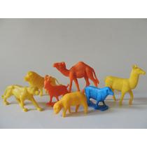 Brinquedo Antigo - Lote De Bichinhos Do Zoologico (qrs)