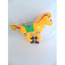 Brinquedo Antigo Cavalinho De Plástico Rígido