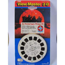 View Master 3d - Tartarugas Ninja 3 - Estrela - Lacrado