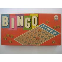 Brinquedo Jogo De Bingo Estrela - Anos 70