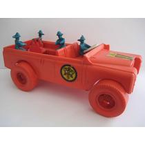 Brinquedo Antigo Carro De Bombeiro