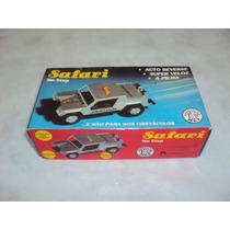 Brinquedo Antigo, Jeep Safari Brinquedos Rei Funcionando.