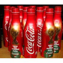 Garrafa De Alumínio Da Coca-cola Copa Do Mundo 2014