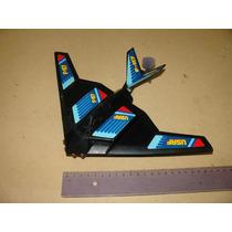 = Usaf = F-117 Firebird Avião Antigo Negro Pilha Com Hélice