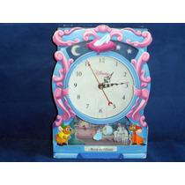 Antigo Relógio De Brinquedo Cinderela Hora Do Baile Disney