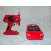 Brinquedo Antigo, Carro Ferrari Controle Remoto Funcionando.
