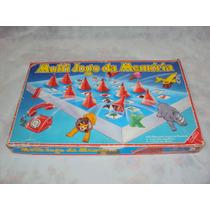 Brinquedo Antigo, Multi Jogo Da Memória Completo Na Caixa.