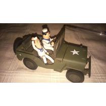 Jeep Willys - Miniatura Cage - Gordo E O Magro