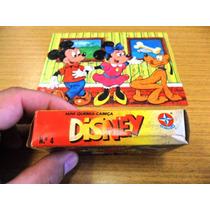 Antigo Mini Quebra Cabeça Disney Nº 4 Raridade Minie Mickey
