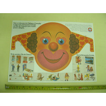 Mascara Promocional - Estrela -dia Das Crianças Anos 70 / 80