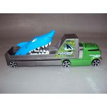 Brinquedo Antigo Caminhão E Carreta Da Hot Wheels.