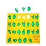 Alfabeto Libras Vazado