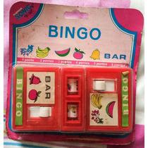 Lembrançinha: Bingo Bar Plásticos Sonic - Lacrado - Anos 90