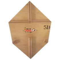 Forma Profissional Para Fazer Pipa Curva 55 Cm