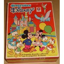 Diversões Disney - Brinquedos Estrela - Completo Na Caixa