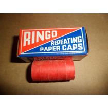 Ringo Brinquedo Espoleta Repetição Decada 70 Antiguidade
