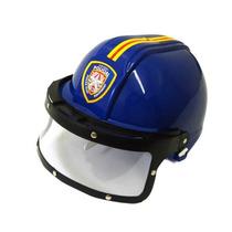 Capacete De Policial E Bombeiro Brinquedo Infantil Kit C/ 2