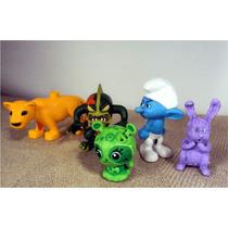 Lote Miniaturas Smurfs Pokemon