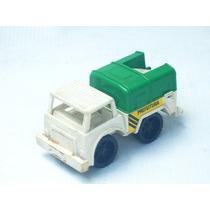 Cod-187 Caminhão De Lixo Brinquedo Plastico Duro