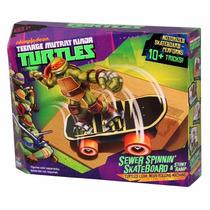 Tartarugas Ninja Veículo Básico Skate Multikids