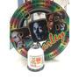 Carretilha De Pipa Madeira Bob Marley (28cm) + Linha 1500j