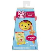 Kit Baby Alive - Refil De Comidinha C/ 8 + Prato + Colher