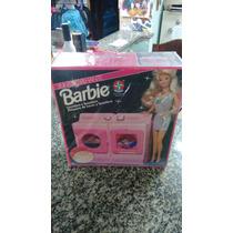 Máquina De Lavar Da Barbie Estrela (brinquedo Antigo)