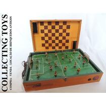 Brinquedo Antigo - Futebol Eletro Magnético - Anos 60 Riper
