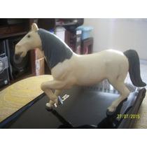 Cavalo Antigo De Plastico 14 Cm Alt 18 Cm Comp.. O Rabo Gira