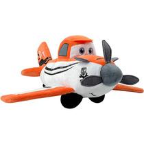 Pelúcia Candide Avião Dusty Aviões Com Reconhecimento De