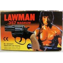 Kit Brinquedo Dos Anos 80 Rambo Magnum 357 Lawman