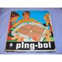 Brinquedo Antigo, Raro Ping-bol Da Estrela Na Caixa.