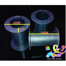 Pipa-carreteis Carretel Plastico Linhas 200jds Pct C/50pçs