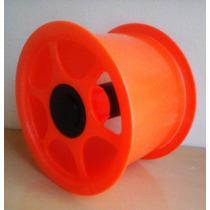 Pipa - Carretilha Plástica Pp 15 Cm + Linha Aero 200 Jds Cor