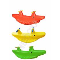 Gangorra Jacaré Balanço Infantil - Playground Brinquedo