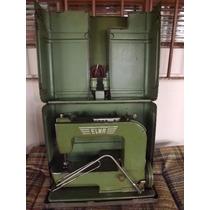 Maquina De Costura Elna Acompanha Cabo E Sem Caixa De Acesso