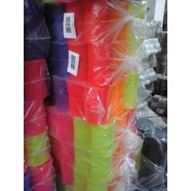 Pipa - Porta Linha Redondo Pequeno Fluorescente 12 Unidades
