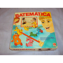 Brinquedo Antigo, Jogo Batemática Pedagógico Br Bandeirantes