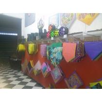 Pacote De Pipas Raia Chilena 39 X39 C/ Estirante 200 Unid.