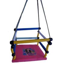 Cadeira Balanço De Madeira Infantil